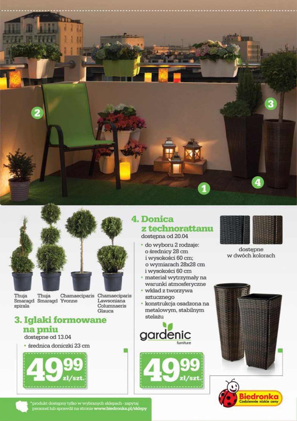 Meble Ogrodowe Gardenic Biedronka Q Housepl