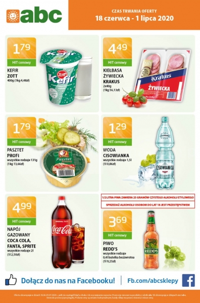 Abc gazetka promocyjna od 2020-06-18, strona 1