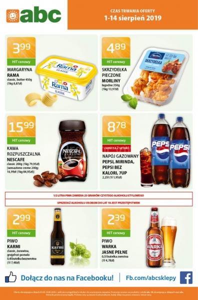 Abc gazetka promocyjna od 2019-08-01, strona 1