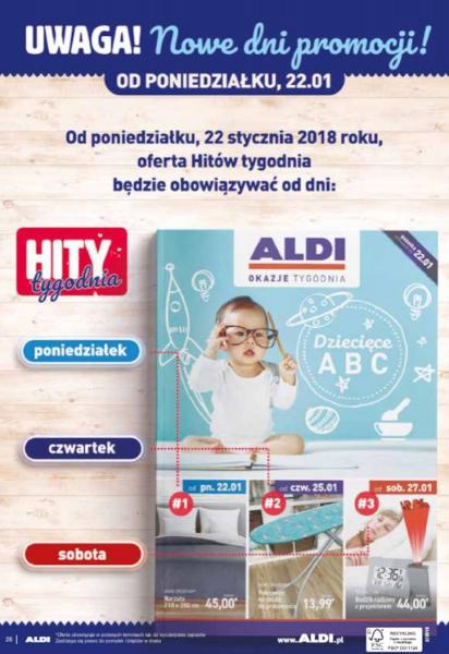 Aldi gazetka promocyjna od 2018-01-08, strona 28
