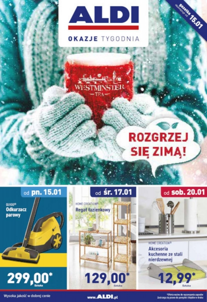 Aldi gazetka promocyjna od 2018-01-15, strona 1
