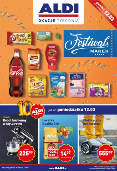 Aldi gazetka promocyjna od 2018-03-12, strona 1
