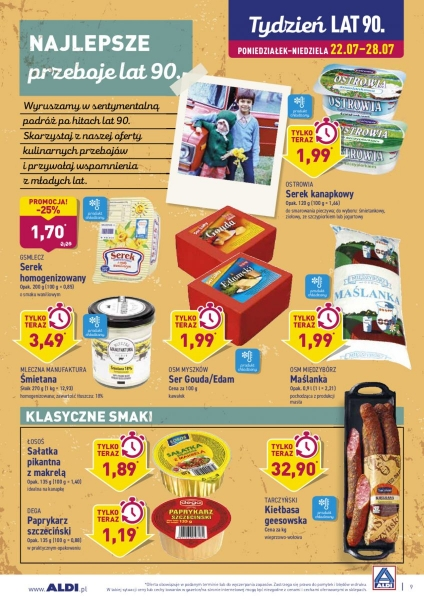 Aldi gazetka promocyjna od 2019-07-22, strona 9