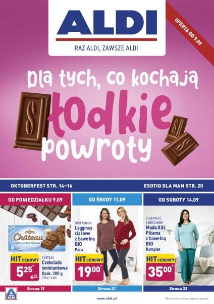 Aldi gazetka promocyjna od 2019-09-09, strona 1
