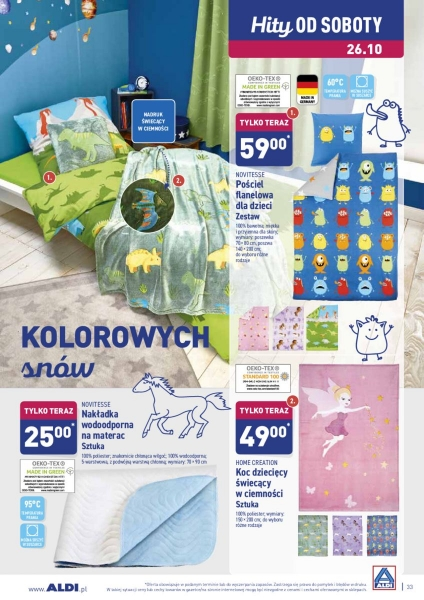 Aldi gazetka promocyjna od 2019-10-21, strona 33