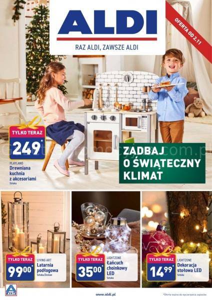 Aldi gazetka promocyjna od 2019-11-02, strona 1