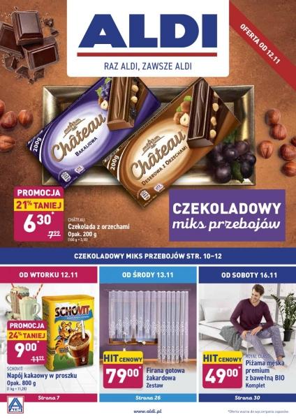 Aldi gazetka promocyjna od 2019-11-11, strona 1