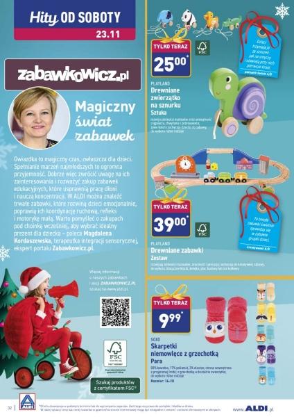 Aldi gazetka promocyjna od 2019-11-18, strona 32