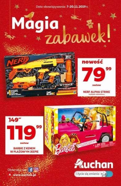 Auchan gazetka promocyjna od 2019-11-07, strona 1
