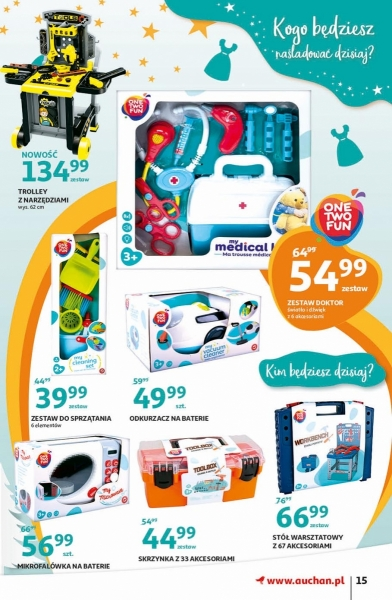 Auchan gazetka promocyjna od 2019-11-07, strona 15