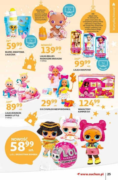 Auchan gazetka promocyjna od 2019-11-07, strona 25