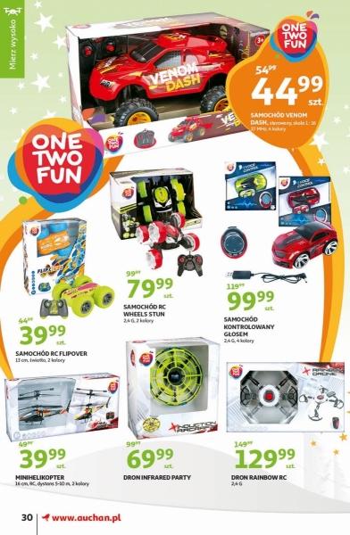 Auchan gazetka promocyjna od 2019-11-07, strona 30