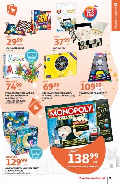 Auchan gazetka promocyjna od 2019-11-07, strona 9