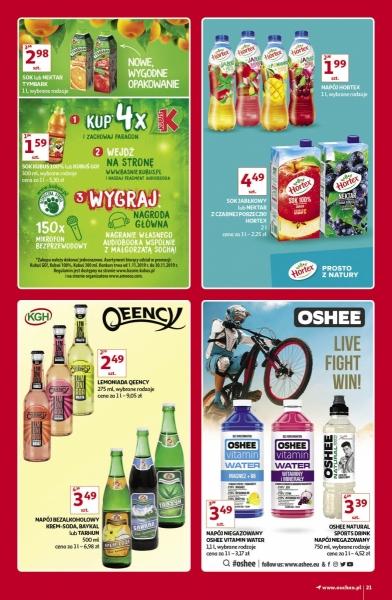 Auchan gazetka promocyjna od 2019-11-07, strona 21
