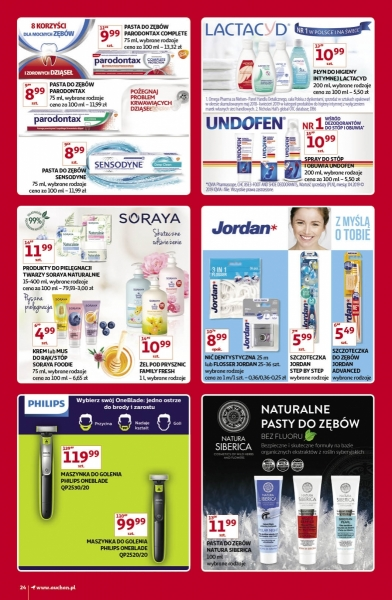 Auchan gazetka promocyjna od 2019-11-07, strona 24