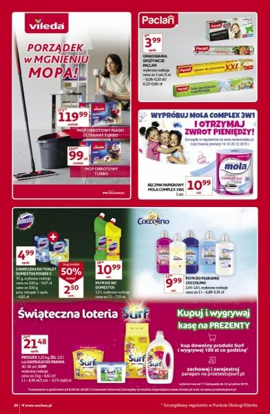 Auchan gazetka promocyjna od 2019-11-07, strona 26