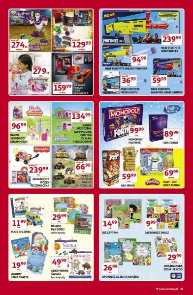 Auchan gazetka promocyjna od 2019-11-07, strona 33