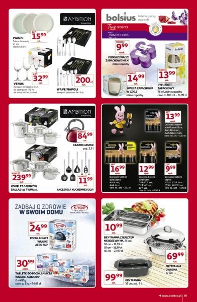 Auchan gazetka promocyjna od 2019-11-07, strona 35