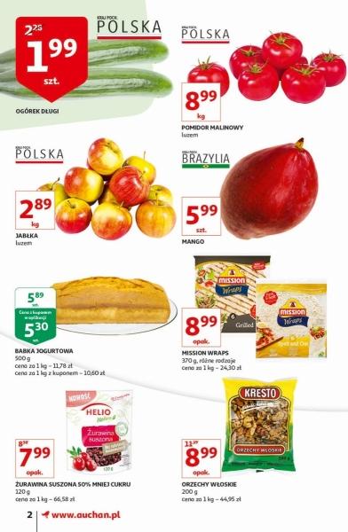 Auchan gazetka promocyjna od 2019-11-07, strona 2