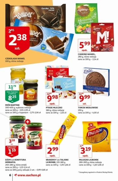 Auchan gazetka promocyjna od 2019-11-07, strona 6