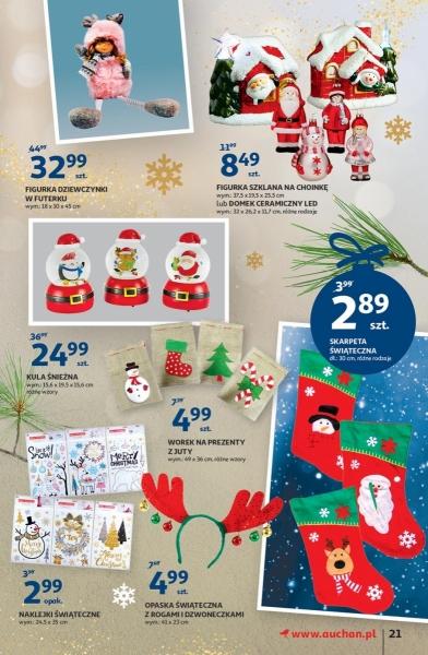 Auchan gazetka promocyjna od 2019-11-28, strona 21