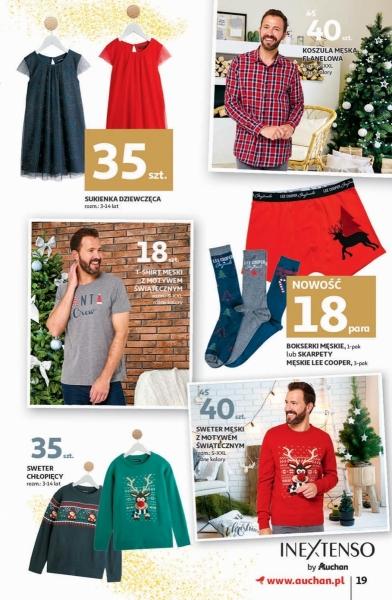 Auchan gazetka promocyjna od 2019-11-28, strona 19