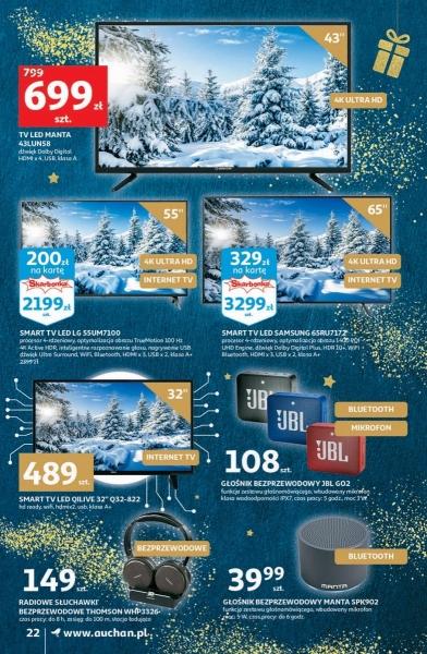Auchan gazetka promocyjna od 2019-11-28, strona 22