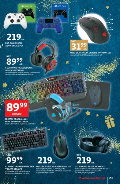 Auchan gazetka promocyjna od 2019-11-28, strona 23