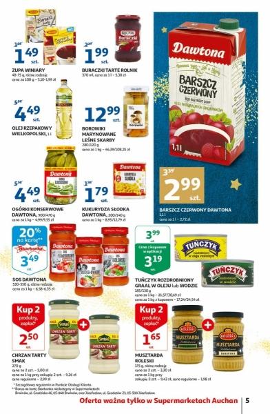 Auchan gazetka promocyjna od 2019-12-12, strona 5