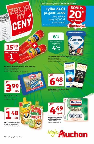 Auchan gazetka promocyjna od 2020-01-23, strona 1