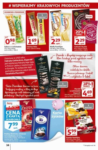 Auchan gazetka promocyjna od 2020-09-17, strona 16
