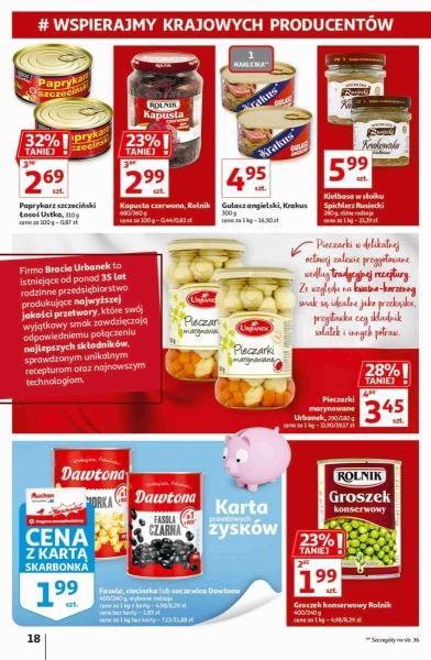 Auchan gazetka promocyjna od 2020-09-17, strona 18