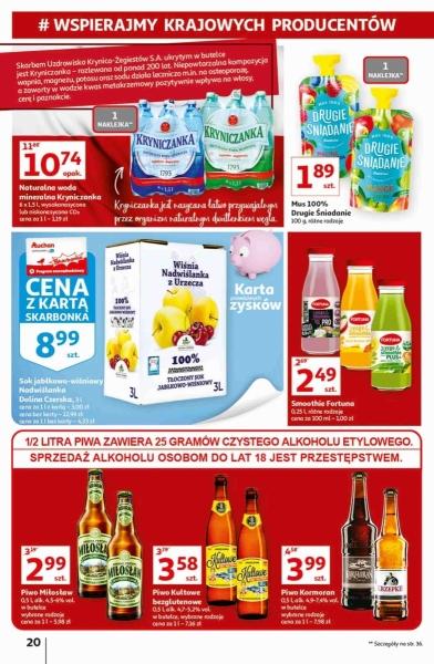 Auchan gazetka promocyjna od 2020-09-17, strona 20