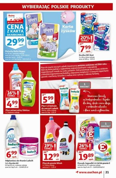 Auchan gazetka promocyjna od 2020-09-17, strona 21