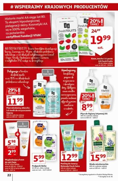 Auchan gazetka promocyjna od 2020-09-17, strona 22