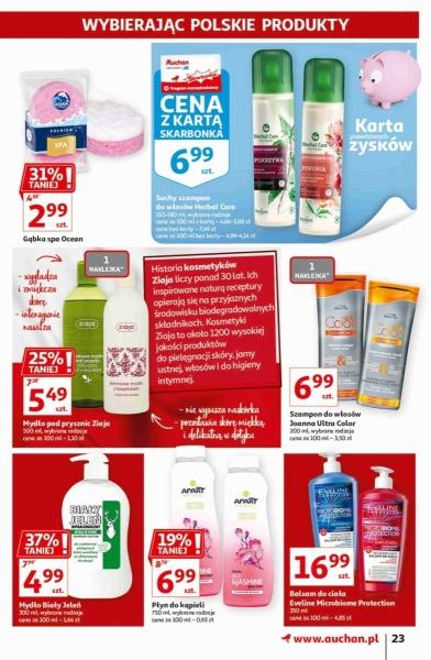 Auchan gazetka promocyjna od 2020-09-17, strona 23