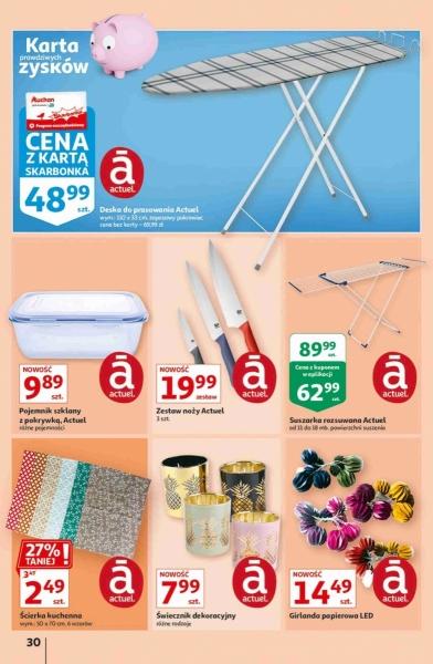Auchan gazetka promocyjna od 2020-09-17, strona 30