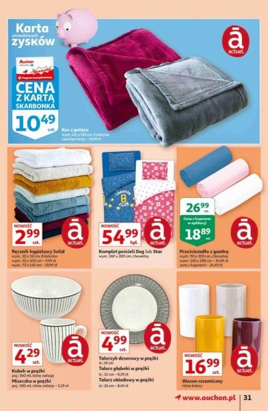 Auchan gazetka promocyjna od 2020-09-17, strona 31