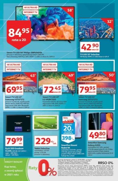 Auchan gazetka promocyjna od 2020-09-17, strona 33