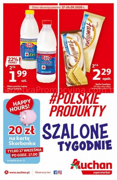 Auchan gazetka promocyjna od 2020-09-17, strona 1