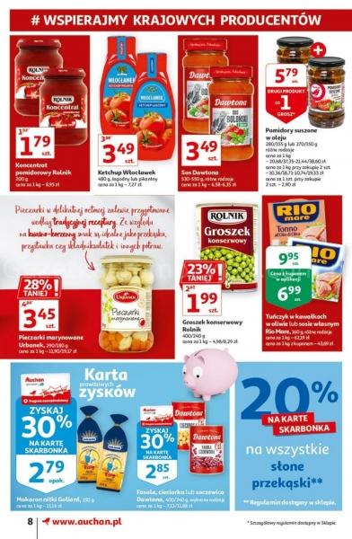 Auchan gazetka promocyjna od 2020-09-17, strona 8