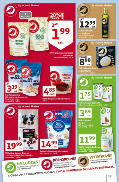 Auchan gazetka promocyjna od 2020-09-25, strona 19