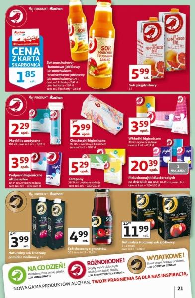 Auchan gazetka promocyjna od 2020-09-25, strona 21