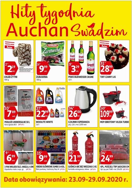 Auchan gazetka promocyjna od 2020-09-23, strona 1