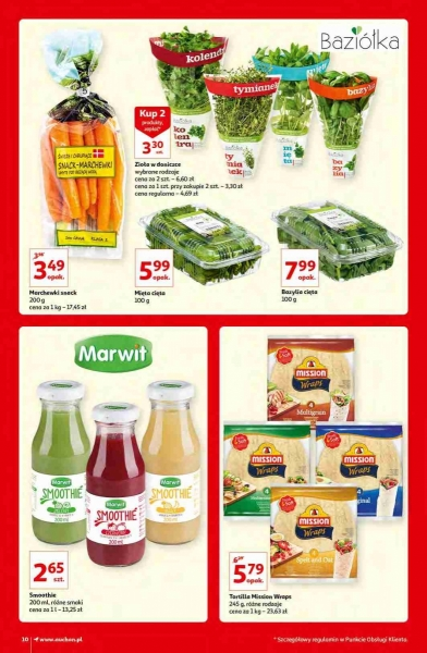 Auchan gazetka promocyjna od 2020-10-15, strona 10