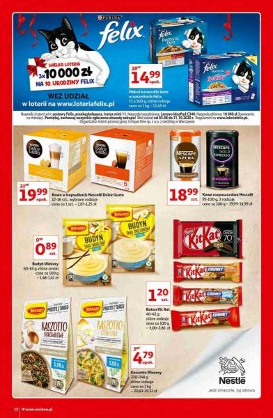 Auchan gazetka promocyjna od 2020-10-15, strona 12