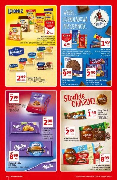 Auchan gazetka promocyjna od 2020-10-15, strona 14