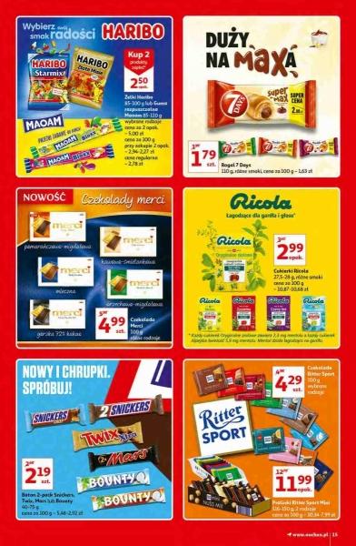 Auchan gazetka promocyjna od 2020-10-15, strona 15