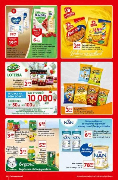Auchan gazetka promocyjna od 2020-10-15, strona 16