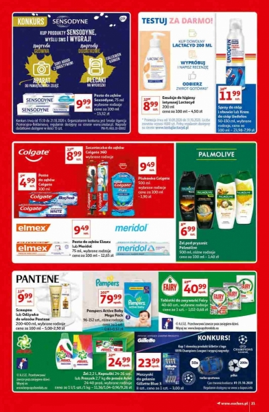 Auchan gazetka promocyjna od 2020-10-15, strona 21
